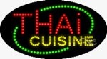 Thai Cuisine LED Sign