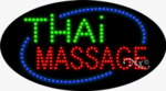 Thai Massage LED Sign