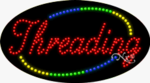 Threading LED Sign