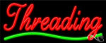Threading Business Neon Sign