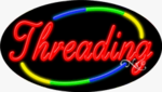Threading Oval Neon Sign