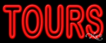 Tours Business Neon Sign