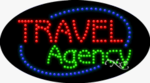 Travel Agency LED Sign