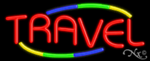Travel Business Neon Sign