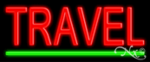 Travel Economic Neon Sign