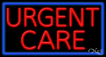 Urgent Care Business Neon Sign