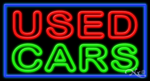 Used Cars Business Neon Sign