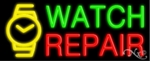 Watch Repair Neon Sign
