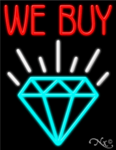 We Buy Diamond Business Neon Sign
