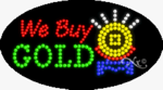 We Buy Gold LED Sign