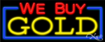 We Buy Gold Business Neon Sign