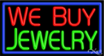 We Buy Jewelry Business Neon Sign