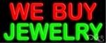 We Buy Jewelry Neon Sign