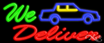 We Deliver Business Neon Sign