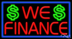 We Finance Business Neon Sign