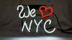 We Love New York City Neon Sign
