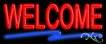Welcome Economic Neon Sign