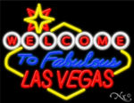 Welcome to Fabulous Las Vegas Business Neon Sign