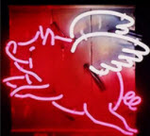 When Pigs Fly Neon Sign