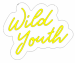 Wild Youth Neon Sign