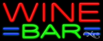 Wine Bar Business Neon Sign