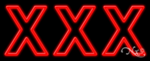 XXX Business Neon Sign