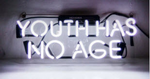 Youth Has No Age Neon Sign