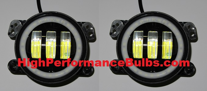 2011 2012 2013 2014 2015 2016 Jeep Wrangler Cree Led Fog Light Replacement Housings
