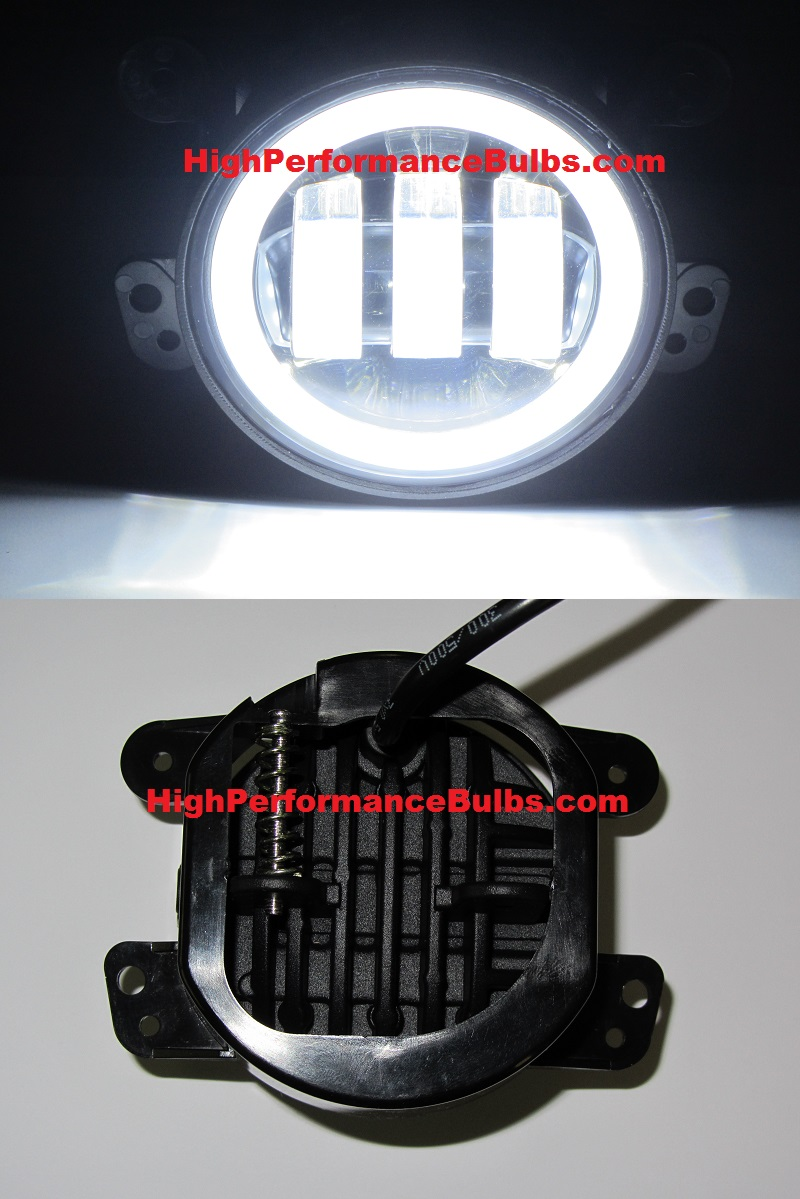 2011 2012 2013 2014 2015 2016 Jeep Wrangler Cree Led Fog Light Lights Replacement Housings