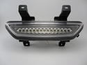 2015 2016 2017 Ford Mustang LED 4th Brake Tail Back Up Reverse Light Clear Chrome