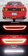 2015 2016 2017 Ford Mustang LED 4th Brake Tail Back Up Reverse Light Smoked Lens