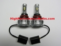9004 (HB1) LED Headlight Bulb Kit With LED Low and LED High Beam