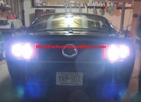 Ford Mustang 2010 - 2012 High Power LED Reverse Light Upgrade Kit