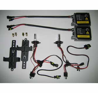 high performance xenon h4 (9003/hb2) plug and play hid conversion kit (hid low  beam/halogen high beam) part # hpxh4klh