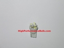 HPX 194 (Also fits 168 and 2825) LED bulb with 6 Small High Output LEDs (single bulb) Part # 194HO6