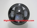 LED 5-3/4 inch Black Projector Headlight for Harley Davidson Motorcycles