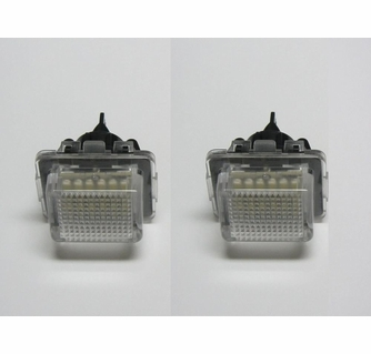 Mercedes LED License Plate Upgrade Modules with 18 LEDs for