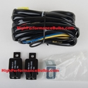 Nokya H11 Headlight Tune Up Kit Battery Relay Harness NOK9218