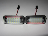 Scion FR-S CREE LED License Plate Lights Replacement Lamps