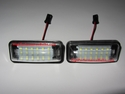 Subaru BRZ CREE LED License Plate Lights Replacement Lamps