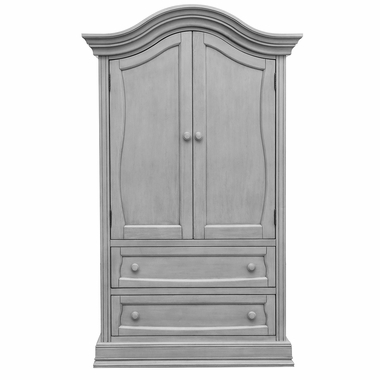 Baby Appleseed Davenport Armoire In Moon Gray Free Shipping