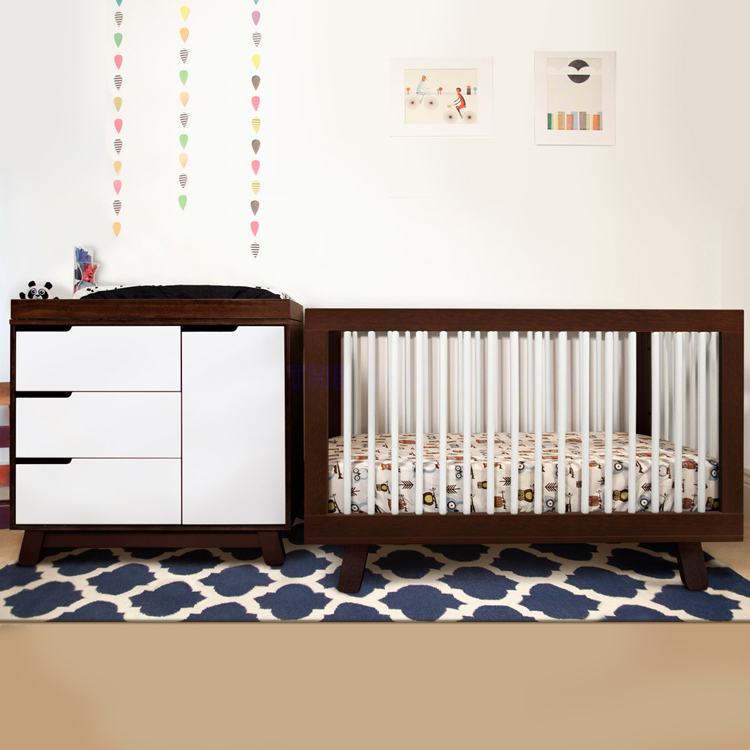 Modern baby cribs nursery furniture simply baby furniture for Affordable modern nursery furniture