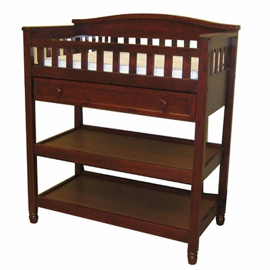 childcraft watterson changing table in cherry pine free. Black Bedroom Furniture Sets. Home Design Ideas