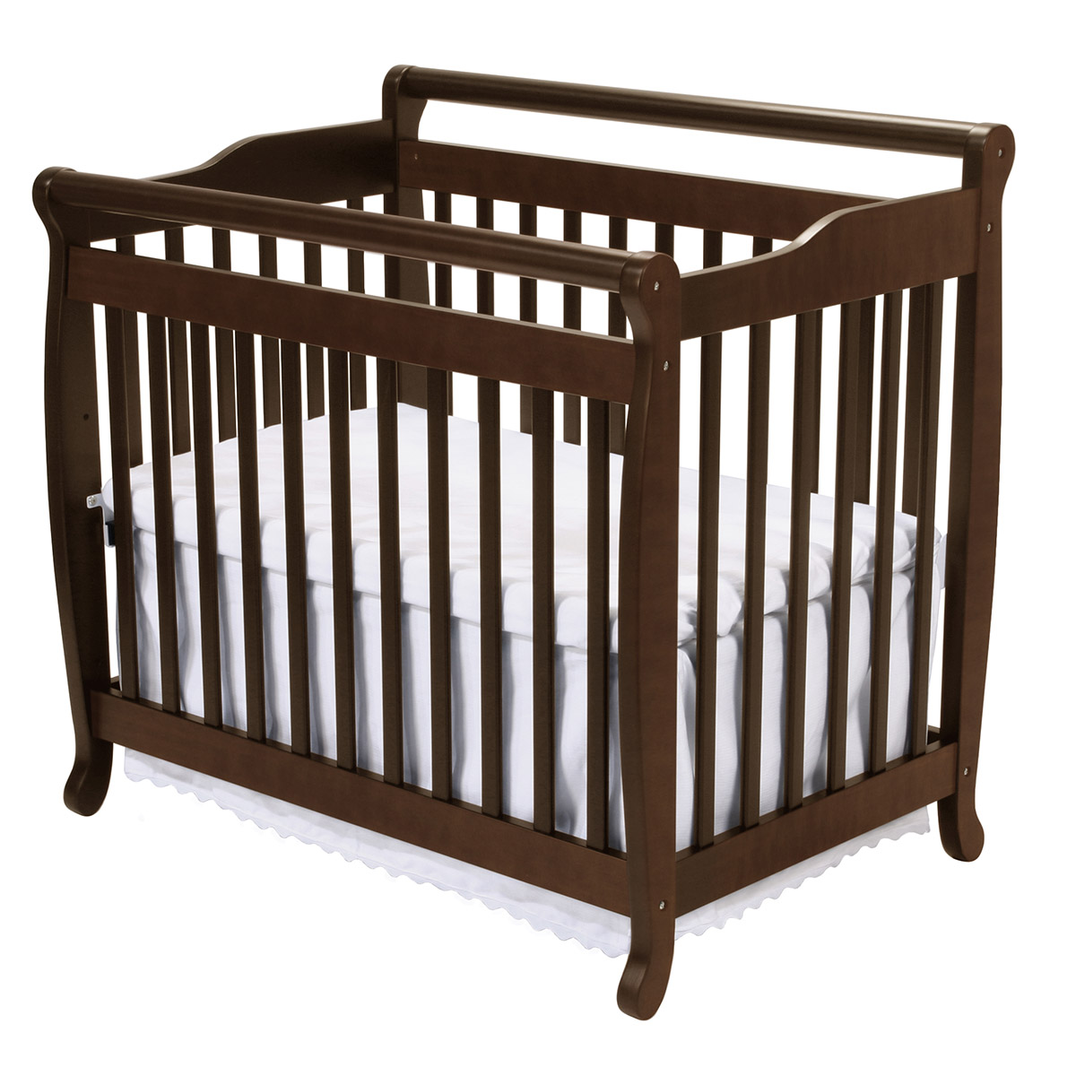 DaVinci Emily Mini 2 in 1 Convertible Crib in Espresso M4798Q FREE SHIPPING