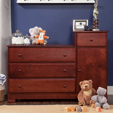 Davinci Kalani Combo Changer Dresser In Cherry Click To Enlarge