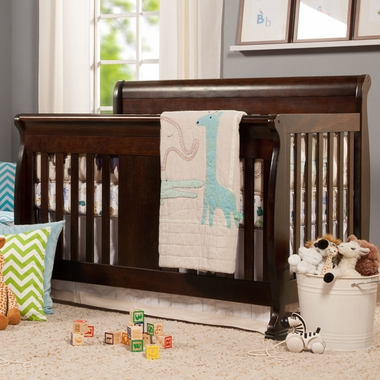 Davinci Porter 4 In1 Convertible Crib In Espresso M8501q Free Shipping