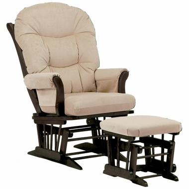 Sleigh glider and ottoman set 28 images shermag for Chaise dutailier