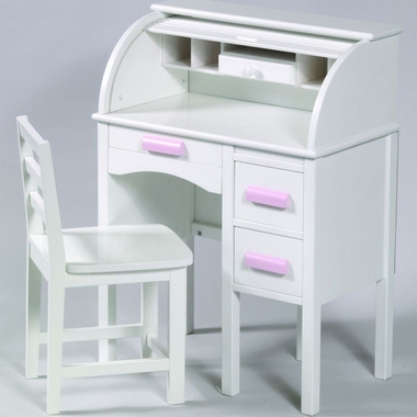 Guidecraft Junior Roll Top Desk In White Click To Enlarge