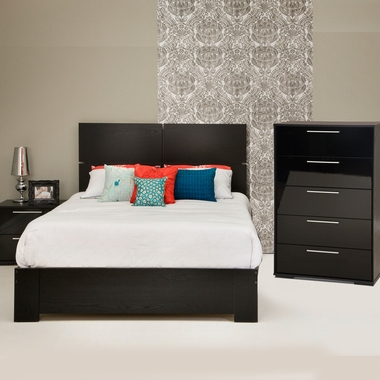 Southshore mikka 4 piece bedroom set flexible queen - South shore 4 piece bedroom furniture set ...
