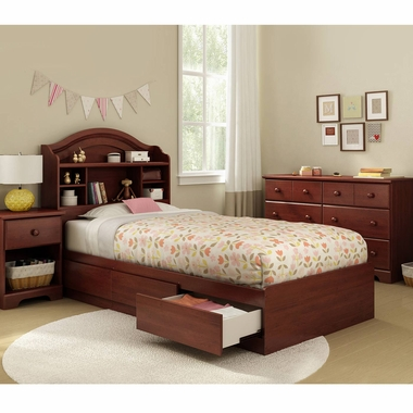 Southshore summer breeze 4 piece bedroom set summer - South shore 4 piece bedroom furniture set ...